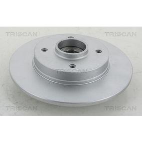Bremsscheibe Bremsscheibendicke: 9mm, Lochanzahl: 4, Ø: 249mm mit OEM-Nummer 4249 65