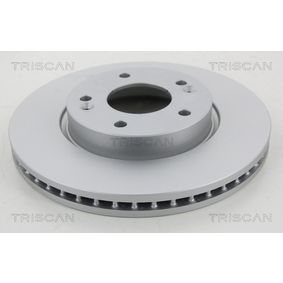 Brake Disc Brake Disc Thickness: 26mm, Num. of holes: 5, Ø: 280mm with OEM Number 51712-1F300