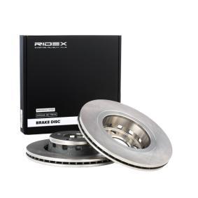 RIDEX Bremsscheibe 82B0303 für AUDI COUPE (89, 8B) 2.3 quattro ab Baujahr 05.1990, 134 PS