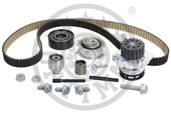 OPTIMAL  SK-1727AQ2 Water pump and timing belt kit Width: 25mm