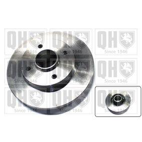 Disco de travão Espessura do disco de travão: 9mm, N.º de furos: 4, Ø: 249mm com códigos OEM 42.49.34