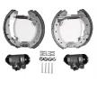 OEM Brake Set, drum brakes JURID 381345J
