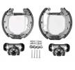 OEM Brake Set, drum brakes JURID 381366J