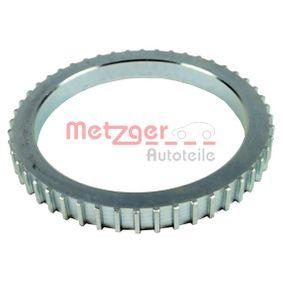 METZGER Drehzahlfühler Zähnez.: 48, Vorderachse, Ø: 99mm