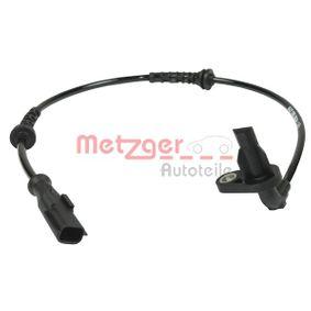 METZGER  0900778 Sensor, Raddrehzahl