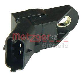 Sensor, insugstryck Polantal: 3-polig med OEM Koder 46468682