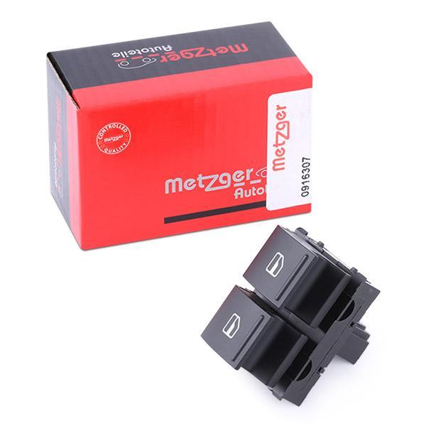 Interruptor Elevadores dos Vidros 0916307 METZGER 0916307 de qualidade original