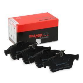 2013 Mazda 3 BL 1.6 MZR Brake Pad Set, disc brake 1170006