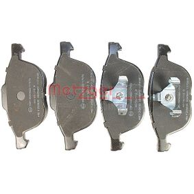 Bremsbelagsatz, Scheibenbremse Höhe 1: 62,5mm, Höhe 2: 67,2mm, Dicke/Stärke: 17,8mm mit OEM-Nummer 3M51-2K021-AB