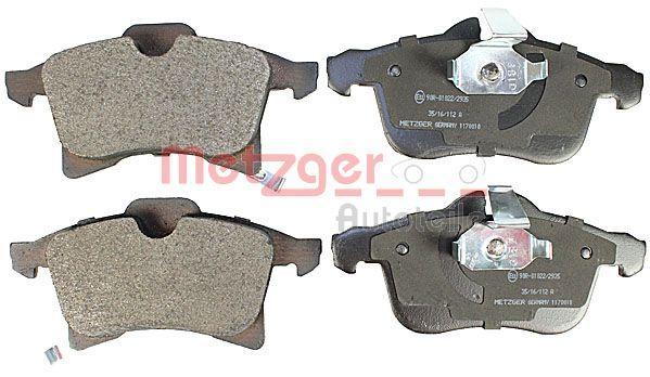 Комплект спирачно феродо, дискови спирачки METZGER 23833 оценка