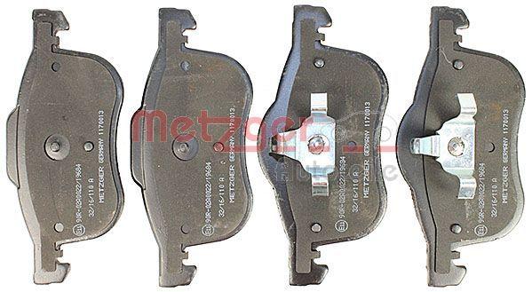 Disk brake pads METZGER 23073 rating
