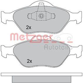 2008 Ford Fiesta Mk5 1.4 TDCi Brake Pad Set, disc brake 1170045