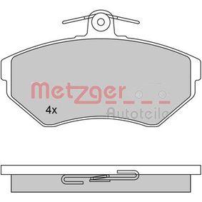 Bremsbelagsatz, Scheibenbremse Breite: 118,8mm, Höhe: 69,5mm, Dicke/Stärke: 16mm mit OEM-Nummer 1HM 698 151A