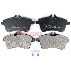 Brake Pad Set, disc brake Width: 131,8mm, Height: 69,8mm, Thickness: 19,1mm with OEM Number A1694201920