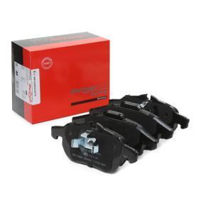 Bremsbelagsatz, Scheibenbremse Höhe 1: 69,9mm, Höhe 2: 70,7mm, Dicke/Stärke: 20mm mit OEM-Nummer 93185751
