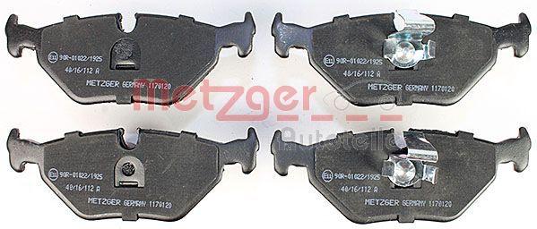 Bremsbelagsatz METZGER 21691 Bewertung
