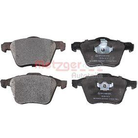 METZGER  1170130 Bremsbelagsatz, Scheibenbremse Höhe 1: 74,3mm, Höhe 2: 75,1mm, Dicke/Stärke 1: 19,4mm, Dicke/Stärke 2: 20,8mm