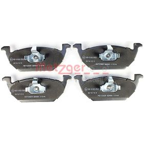 Bremsbelagsatz, Scheibenbremse Breite: 146mm, Höhe: 54,8mm, Dicke/Stärke: 20mm mit OEM-Nummer 1J0 615 115