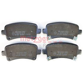 Brake Pad Set, disc brake Width: 106,5mm, Height: 48,1mm, Thickness: 16,8mm with OEM Number 1605319