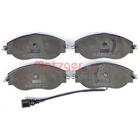 Brake Pad Set, disc brake Width: 175mm, Height: 69,5mm, Thickness: 20mm with OEM Number 3C0698151G