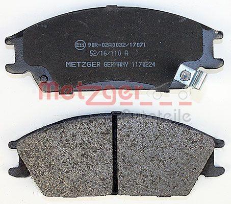Bremsklötze METZGER 21012 Erfahrung