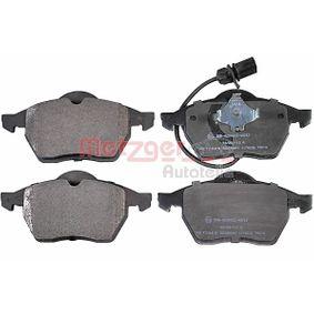 Bremsbelagsatz, Scheibenbremse Breite: 156,4mm, Höhe: 74,4mm, Dicke/Stärke: 19,9mm mit OEM-Nummer 1143349