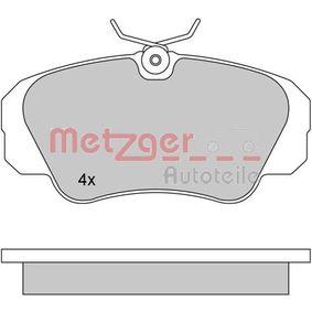 Bremsbelagsatz, Scheibenbremse Höhe: 63,8mm, Dicke/Stärke: 19mm mit OEM-Nummer 1605 004