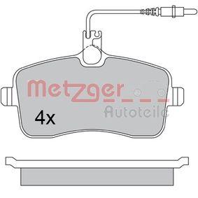 Bremsbelagsatz, Scheibenbremse Breite: 131,2mm, Höhe: 66,5mm, Dicke/Stärke: 19,5mm mit OEM-Nummer 425332