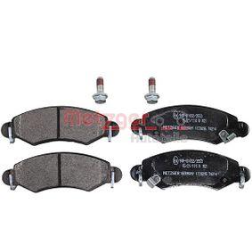 Bremsbelagsatz, Scheibenbremse Breite: 131mm, Höhe: 44,1mm, Dicke/Stärke: 15,7mm mit OEM-Nummer 4704 578