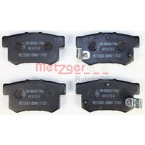 Brake Pad Set, disc brake 1170337 CR-V 2 (RD) 2.0 (RD4) MY 2006