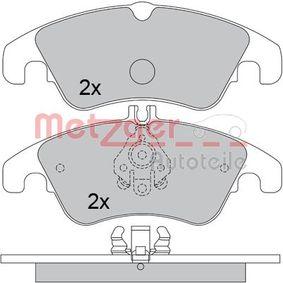 Brake Pad Set, disc brake 1170509 E-Class Saloon (W212) E 350 3.5 4-matic (212.088) MY 2013