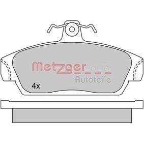 Brake Pad Set, disc brake Article № 1170514 £ 150,00