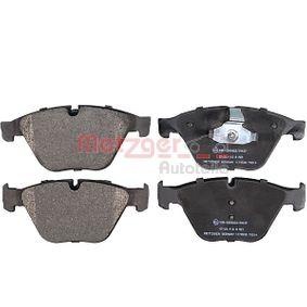 Bremsbelagsatz, Scheibenbremse Höhe: 68,5mm, Dicke/Stärke: 19mm mit OEM-Nummer 3411 6775 314