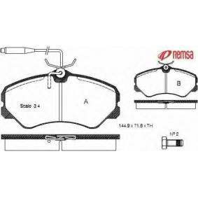 Bremsbelagsatz, Scheibenbremse Höhe: 71,60mm, Dicke/Stärke: 19,5mm mit OEM-Nummer 4250-47
