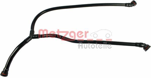 METZGER  2380028 Tubo flexible, ventilación bloque motor