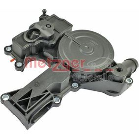 Oil Trap, crankcase breather with OEM Number 06H103495AC+