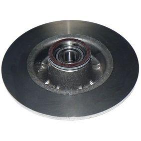 Bremsscheibe Bremsscheibendicke: 8mm, Lochanzahl: 4, Ø: 240mm mit OEM-Nummer 8200 038 305