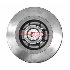 Bremsscheibe Bremsscheibendicke: 11mm, Lochanzahl: 4, Ø: 274mm mit OEM-Nummer 86 60 001 815