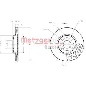 Bremsscheibe Bremsscheibendicke: 19,9mm, Lochanzahl: 4, Ø: 257,3mm mit OEM-Nummer 5174 9124