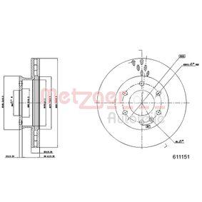 Bremsscheibe Bremsscheibendicke: 28mm, Lochanzahl: 6, Ø: 299,7mm mit OEM-Nummer A906 421 02 12