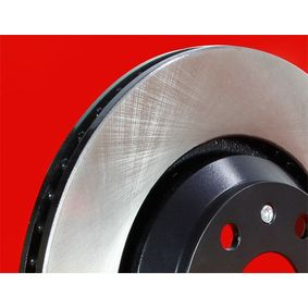 Brake Disc Brake Disc Thickness: 23mm, Num. of holes: 5, Ø: 281,8mm with OEM Number 45251-S7A- E11