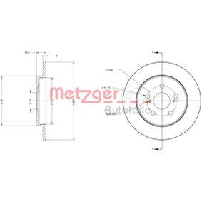 Bremsscheibe Bremsscheibendicke: 9mm, Lochanzahl: 5, Ø: 259mm mit OEM-Nummer 42431 12 310