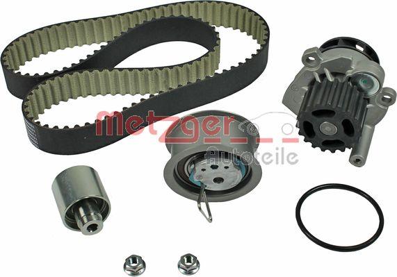 METZGER  WM-Z 2964WP Water pump and timing belt kit