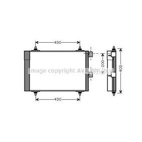 PRASCO  CN5241D Kondensator, Klimaanlage Kältemittel: R 134a