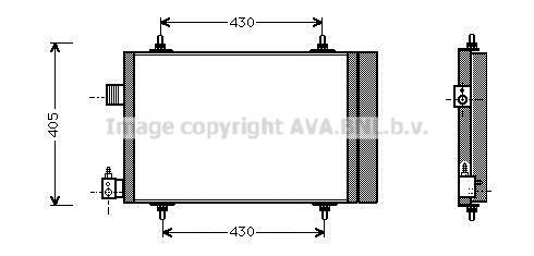 PRASCO  CNA5173D Kondensator, Klimaanlage