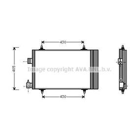 Kondensator, Klimaanlage Art. Nr. CNA5173D 89,00€