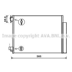 Kondensator, Klimaanlage Kältemittel: R 134a mit OEM-Nummer 4535000054