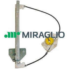 MIRAGLIO Fensterheber 30/1208 für AUDI A4 (8E2, B6) 1.9 TDI ab Baujahr 11.2000, 130 PS
