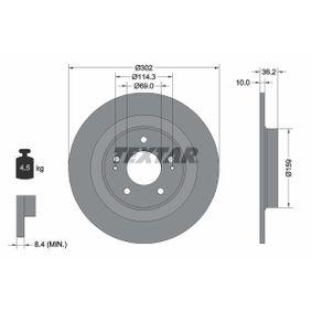 Disco freno 92267403 ASX (GA_W_) 2.4 4WD ac 2014