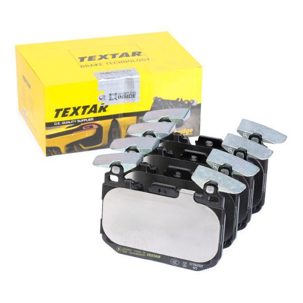 TEXTAR  2502801 Bremsbelagsatz, Scheibenbremse Breite: 114,8mm, Höhe: 91,2mm, Dicke/Stärke: 18,2mm